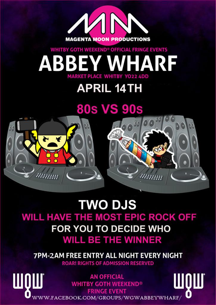 2019-04-14 - Fringe Spring 2019 - Sunday - Abbey Wharf DJ Wars